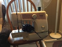 white and gray electric sewing machine Irvine, 92614