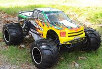 1/5 scales gas rc yellow and black r/c monster truck toy Lawrenceville, 30044