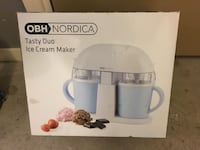 OBH Nordica Tasy Duo Ice Cream Maker box Eskilstuna, 633 51
