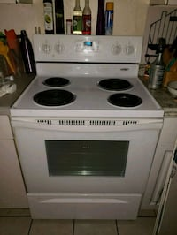 white electric coil range oven Clearwater, 33764
