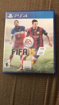 FIFA 15 PS4 game case Charlotte, 28213