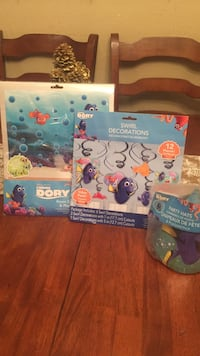 two Disney Pixar Finding Dory books