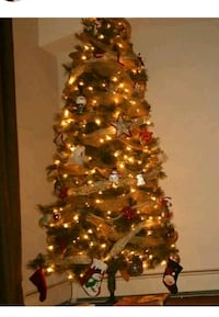 XMAS 7.5 ft tree and accessories  Dartmouth, B3A 0A9