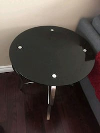 2 Sets of Glass Tables - Center and Side Table