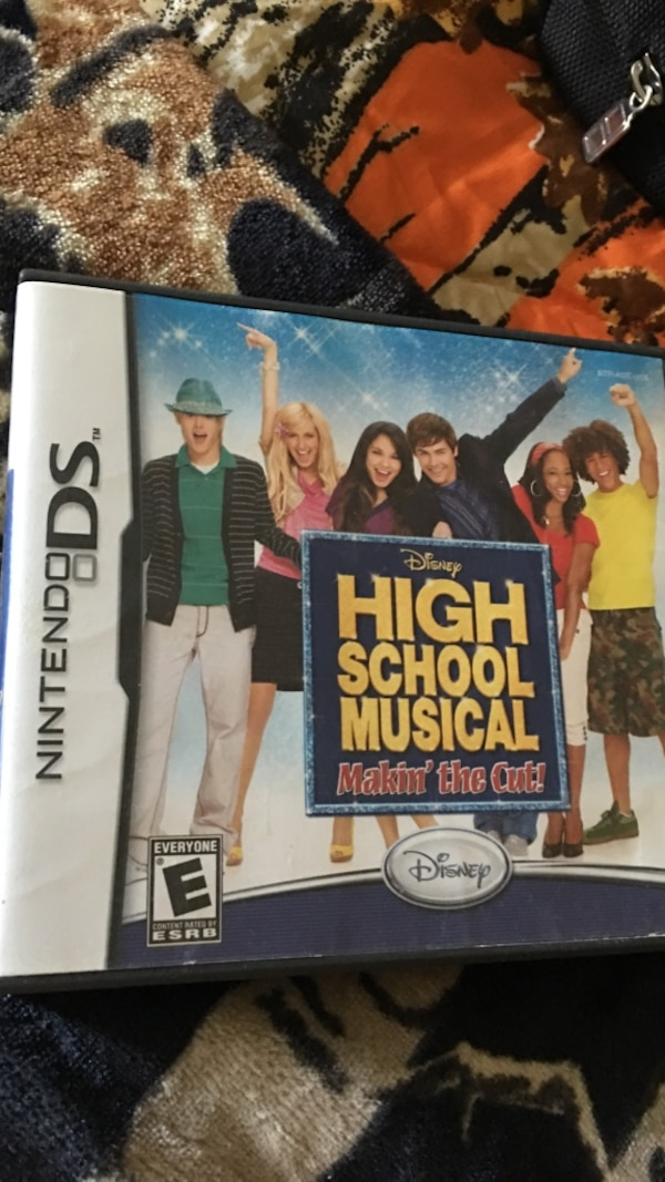 High School Musical Nintendo DS game case