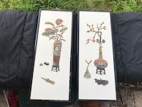 Two Asian art pictures