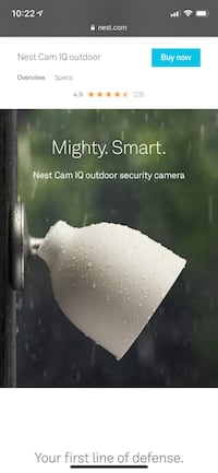 Best outdoor IQ security camera Toronto, M6K 0B4