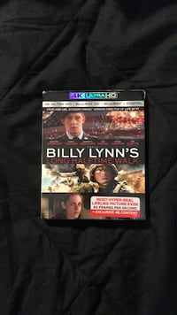 Billy Lynn's Long Halftime Walk 4k blu ray Vienna, 22180