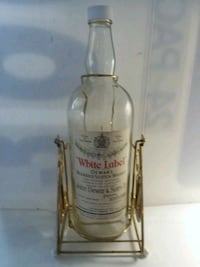 Dewars White Label decanter Falmouth, 02536