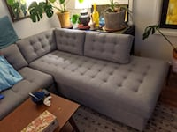 Chaise Sofa - Part of Joybird Eliot Sectional with Bumper