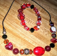 new never used fashion jewelry red and black never Las Vegas, 89106