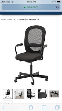 Flintan ikea office chair Vancouver, V5M 1W2