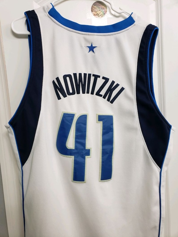 black and white Dallas 41 basketball jersey 4