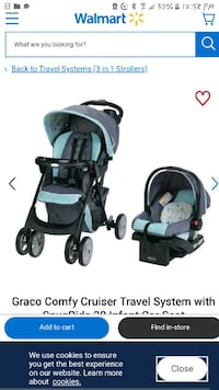graco travel system carseat and a stroller Burnaby, V3N 1V3