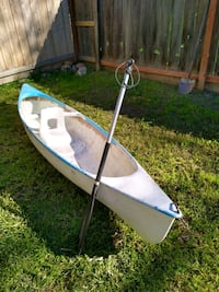 Nona 12ft be canoe single seater w/one oar