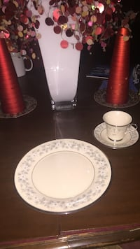 White ceramic teacup and saucer Shepherdstown, 25443