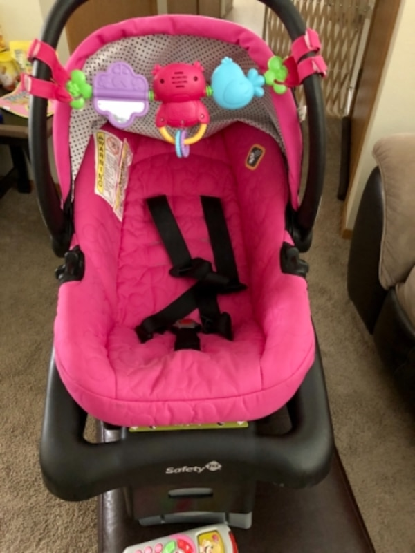Disney Onboard Minnie Mouse Car Seat