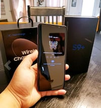 black Samsung Galaxy S8 + with box Sterling Heights, 48311