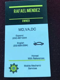 Mobil Mechanic  Oxon Hill