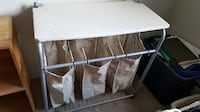 Laundry sorter and ironing board surface Derry