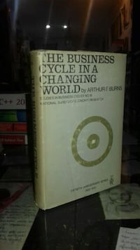 The business cycle in a changing world ( ciltli - şömizli )