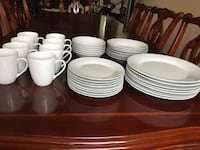 Strawberry Street Simply White 37-pc. Dinnerware Set Las Vegas, 89138