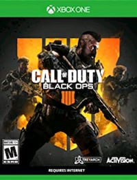 Brand New Sealed Black Ops 4 Xbox One Springfield, 22153