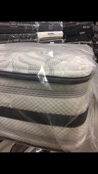 King Beauty Rest pillow top mattress with box spring we carry all sizes at factory prices with deliveries available