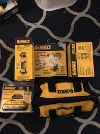 Dewalt tools and batteries
