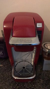 Red and gray keurig coffeemaker Washington, 20009