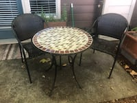 Patio Table and Two Chairs Beaverton, 97006