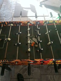 black and red foosball table New Westminster, V3M 3X7