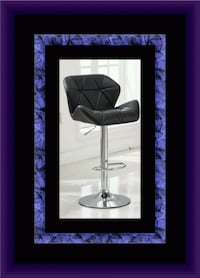 Black bar stool brand new  Gaithersburg