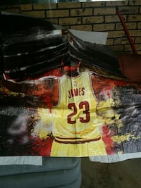 LeBron James poster Lubbock, 79412
