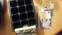 Herb seeds and seeder pot tray Oshawa