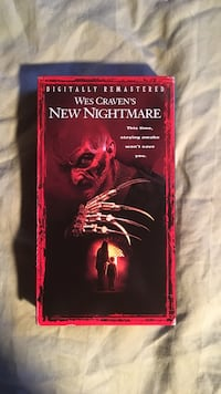 Wes Craven's New Nightmare movie VHS Hampstead, 21074
