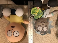 Rick And Morty Plush  Stuffed Animal Doll Toy Factory  Courtice, L1E 2S2