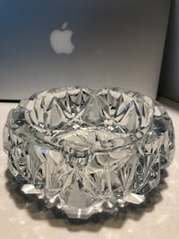 Czechoslovakia Crystal - Candle Holder Montreal, H3G 0B7