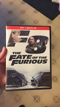 The Fate of the Furious dvd brand new just have two of the same movie  McClure, 43534