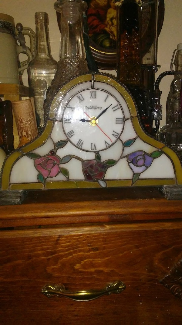 Collectable Dale Tiffany Mantel Clock