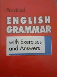 PRACTİCAL ENGLISH GRAMMAR WİTH EXERCİSES AND ANSWERS   Emek, 06490