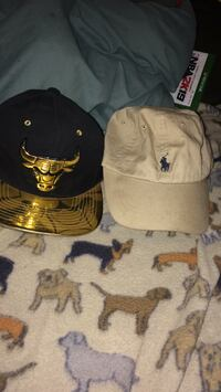 two black and white Ralph Lauren caps Bakersfield, 93305