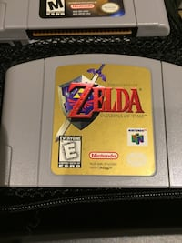 Nintendo 64 game cartridge with case what you see in picture is what you get $400 obo