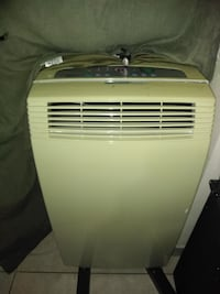 white LG portable air cooler St. Catharines