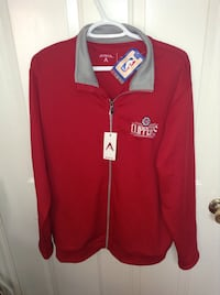 Clippers Full Zip Warm Up Jacket by Antigua NWT Size Large