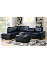 Sectional couch with Storage Ottoman  Houston, 77036