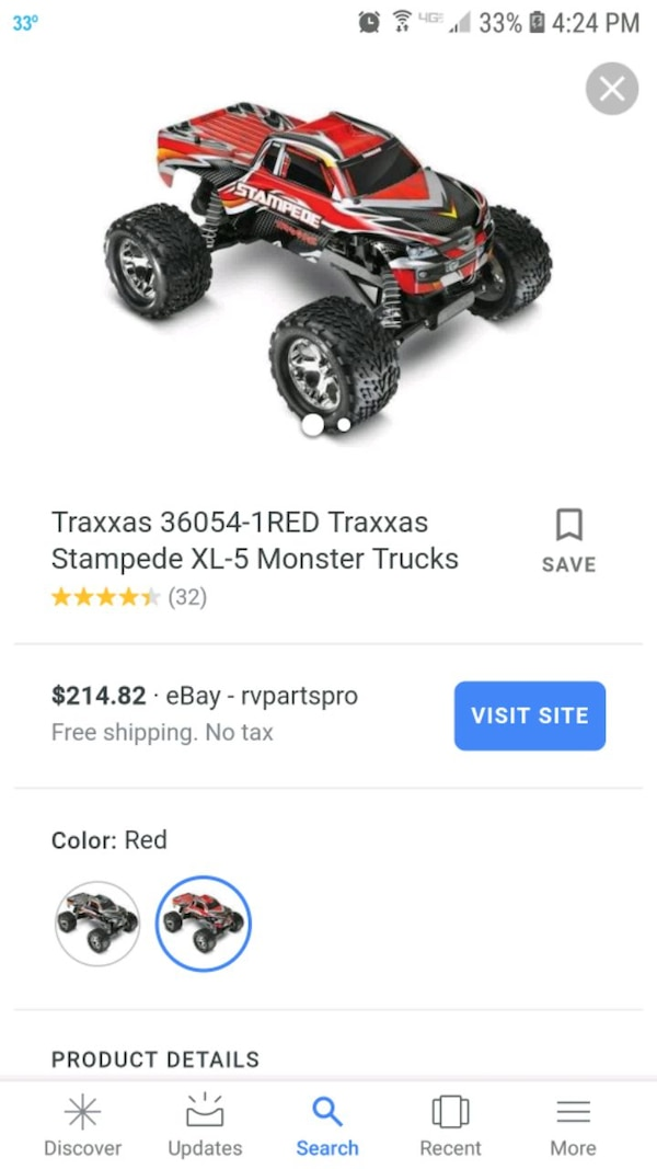 Traxxas Stampede 2wd 1/10 scale RC truck ddb2a90a-f6a5-47e8-9ce8-fb7119ba27d5