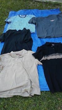 $2.00 ea.MENS SHORT SLEEVE TOPS. New Waverly