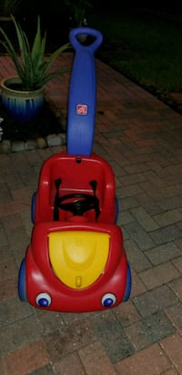 red and blue Little Tikes cozy coupe Orlando, 32822