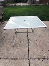 Square Outside Patio Table